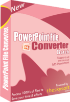 Amazing PowerPoint File Converter Batch Coupon