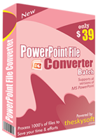 PowerPoint File Converter Batch Coupon
