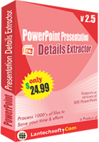 LantechSoft – PowerPoint Presentation Details Extractor Coupon Deal