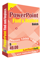 Powerpoint Find and Replace Batch – 15% Sale