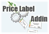 Exclusive Price Label Addin for Microsoft Office Excel (1-Year Single License) Coupon Sale