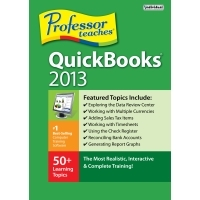 Professor Teaches QuickBooks 2013 Coupons 15%