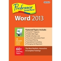 Instant 15% Professor Teaches Word 2013 Coupon Code