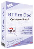 Exclusive RTF TO DOC Converter Batch Coupon Code