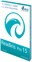 IRIS Link Readiris Corporate 15 Windows (OCR Software) Discount
