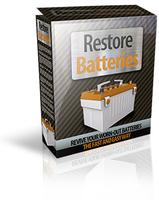 15 Percent – Restore Batteries