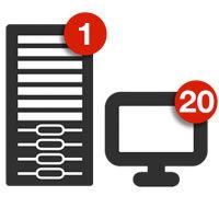 Retrospect Single Server 20 Workstation Clients v.13 for Mac Coupon