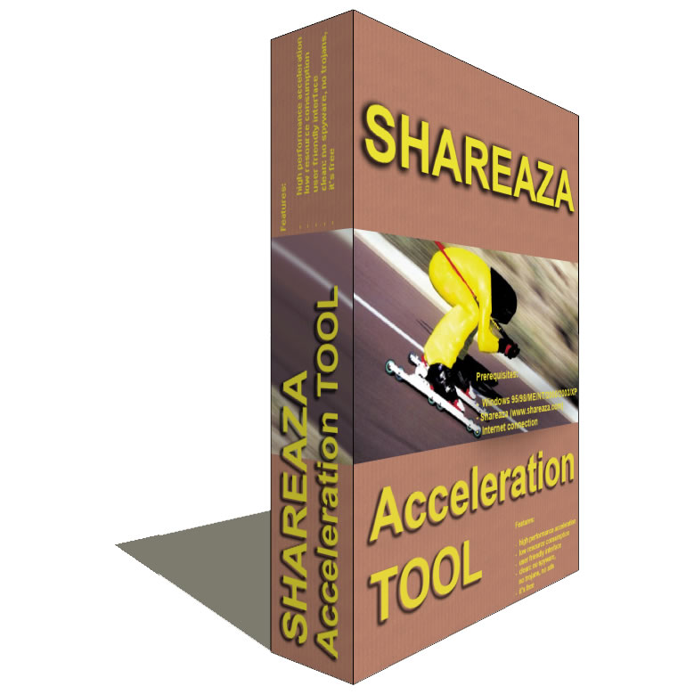 Shareaza Acceleration Tool Coupon Code – 35%