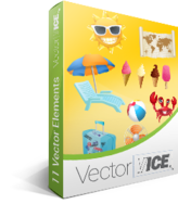 Summer Vector Pack – VectorVice – Exclusive 15% Off Coupon
