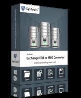 SysTools Exchange EDB to MSG Converter Coupon