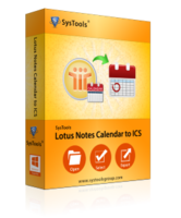 Special SysTools Lotus Notes Calendar to ICS Coupon
