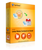 SysTools Lotus Notes Contacts to Gmail Sale Coupon