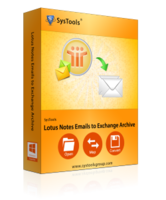 SysTools SysTools Lotus Notes Emails to Exchange Archive – Site License Coupon Sale