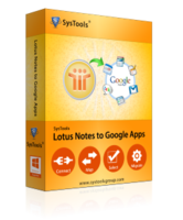 SysTools Lotus Notes to Google Apps – Premium Coupon