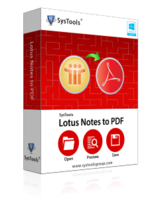 SysTools Lotus Notes to PDF Converter Coupons