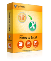 SysTools Notes to Excel Coupon Code