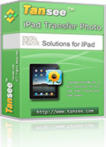Tansee iPad Transfer Photo Coupon – 25%