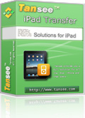 Tansee iPad Transfer Coupon Code – 25%