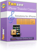 Tansee iPhone/iPad/iPod Contact Transfer Coupon – 25%