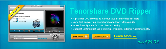 $5 Tenorshare Video Converter Ultimate for Windows Coupon