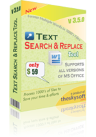 TheSkySoft Text Search and Replace Tool Coupon