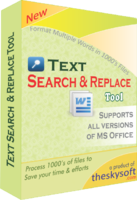 Text Search and Replace Tool Coupon Code