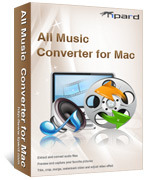 Tipard All Music Converter for Mac – 15% Off
