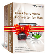 Instant 15% Tipard BlackBerry Converter Suite for Mac Coupon Code