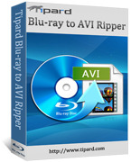 Tipard Blu-ray to AVI Ripper Coupons 15% OFF