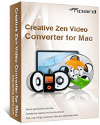 Tipard – Tipard Creative Zen Video Converter for Mac Coupons