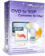 15% OFF – Tipard DVD to 3GP Converter for Mac