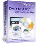 Instant 15% Tipard DVD to AMV Converter for Mac Coupon