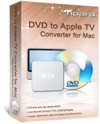 Exclusive Tipard DVD to Apple TV Converter for Mac Coupon Code