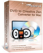 15% – Tipard DVD to Creative Zen Converter for Mac