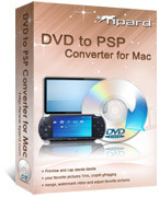 Tipard DVD to PSP Converter for Mac Coupon