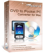 Tipard DVD to Pocket PC Converter for Mac – 15% Sale
