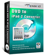 15% off – Tipard DVD to iPad 2 Converter
