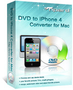 15 Percent – Tipard DVD to iPhone 4 Converter for Mac