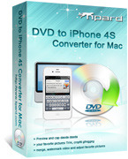 Tipard DVD to iPhone 4S Converter for Mac Coupon Code 15%