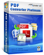Tipard PDF Converter Platinum – Exclusive 15 Off Coupon