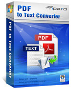 Tipard PDF to Text Converter Coupon 15%