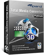 Tipard Total Media Converter Platinum Coupons 15% Off