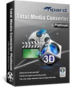 Tipard Total Media Converter Platinum Coupons 15% Off