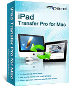 Tipard Tipard iPad Transfer Pro for Mac Coupon