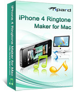 Tipard iPhone 4 Ringtone Maker for Mac – Exclusive 15 Off Discount