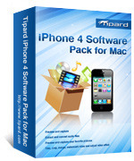Tipard Tipard iPhone 4 Software Pack for Mac Coupon