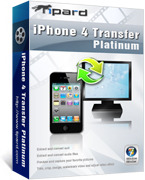 Tipard iPhone 4 Transfer Platinum – 15% Discount