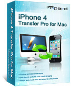 Tipard iPhone 4 Transfer Pro for Mac Coupon