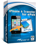 15% off – Tipard iPhone 4 Transfer for ePub