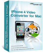Tipard iPhone 4 Video Converter for Mac Coupon 15% OFF